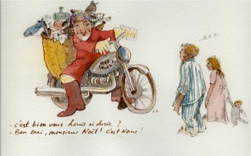 Noël de Lucie et Louis